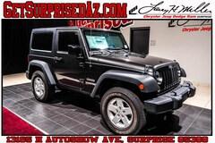 new cars, trucks, and SUVs 2018 Jeep Wrangler JK SPORT S 4X4 Sport Utility for sale near you in Surprise, AZ