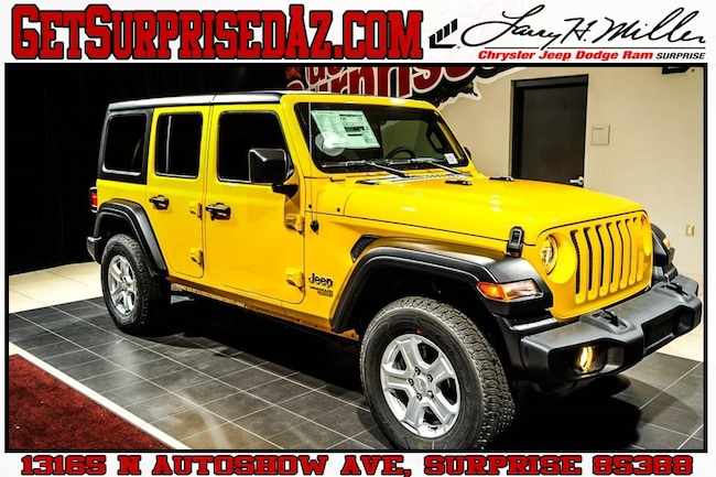 New vehicle 2019 Jeep Wrangler UNLIMITED SPORT S 4X4 Sport Utility for sale near you in Surprise, AZ