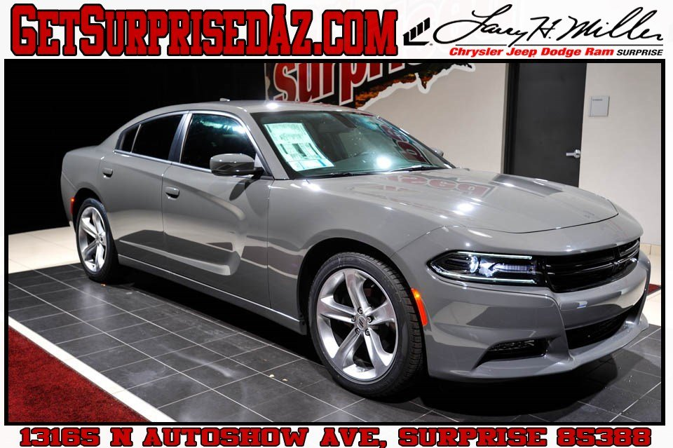 Featured 2018 Dodge Charger SXT PLUS RWD - LEATHER Sedan for sale near you in Surprise, AZ