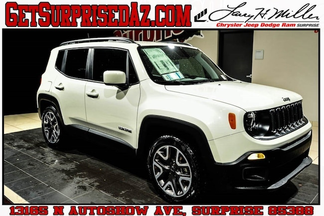 New 2018 Jeep Renegade LATITUDE 4X2 Sport Utility for sale near you in Surprise, AZ