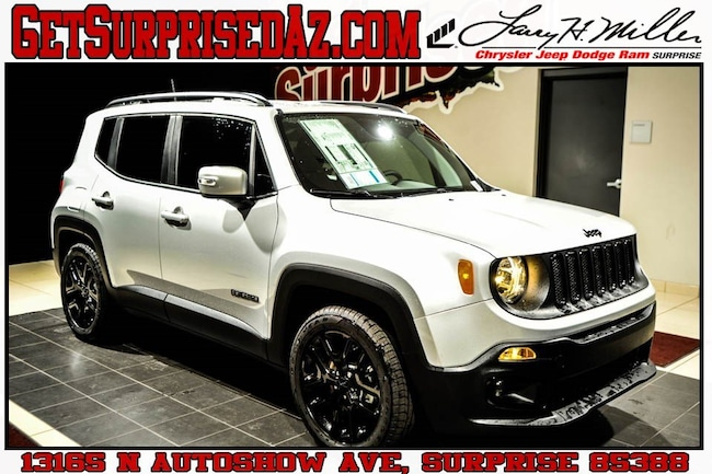New 2018 Jeep Renegade ALTITUDE 4X2 Sport Utility for sale near you in Surprise, AZ