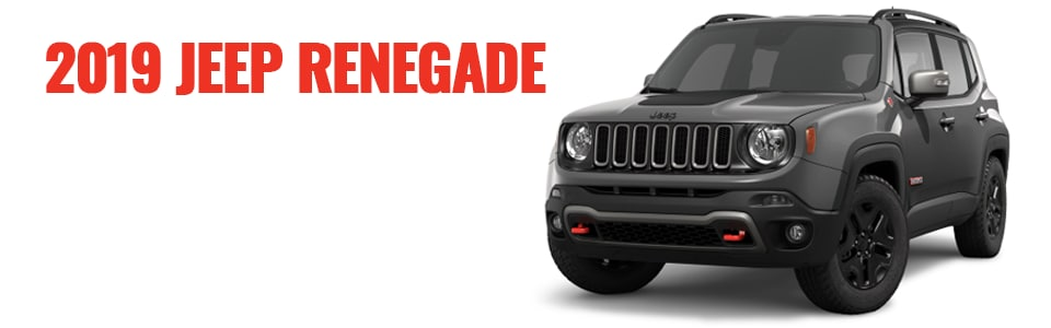 Review & Compare the 2019 Jeep Renegade at Larry H. Miller Chrysler Jeep Dodge Ram Surprise