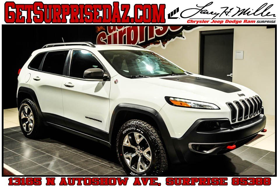 Featured 2015 Jeep Cherokee Trailhawk 4x4 SUV for sale near you in Surprise, AZ