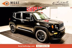 New 2021 Jeep Renegade SPORT FWD Sport Utility for sale near you in Surprise, AZ