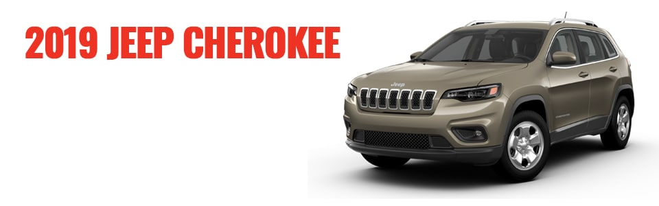 Review & Compare the 2019 Jeep Cherokee at Larry H. Miller Chrysler Jeep Dodge Ram Surprise