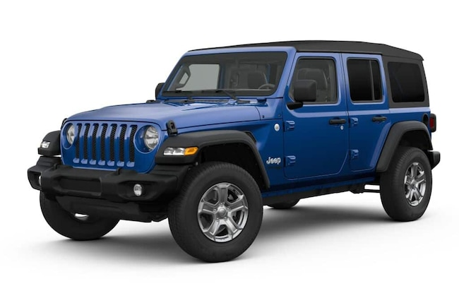 New 2019 Jeep Wrangler UNLIMITED SPORT S 4X4 Sport Utility for sale near you in Surprise, AZ