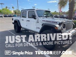 Used 2020 Jeep Gladiator Rubicon Truck Crew Cab Arizona