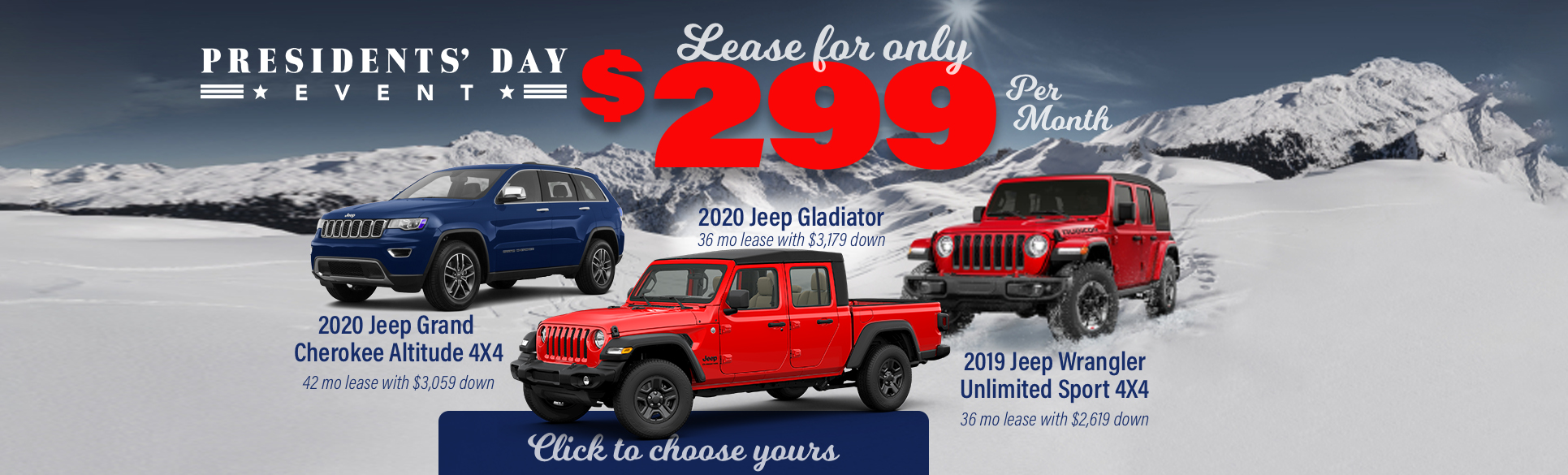Shop Jeep Lease Specials