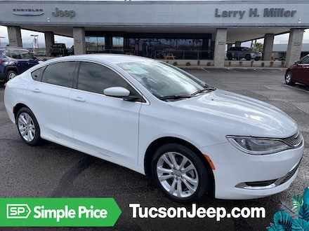 Featured Pre-Owned 2015 Chrysler 200 Limited Sedan for sale near you in Tucson, AZ