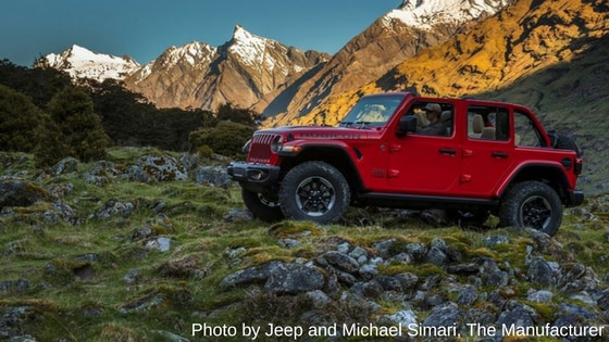 We Highlighted Our Favorite Things Offered With the 2018 Jeep Wrangler JL