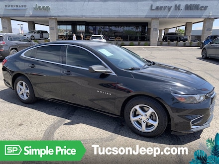 Featured Pre-Owned 2017 Chevrolet Malibu LS w/1LS (Retail only) Sedan for sale near you in Tucson, AZ