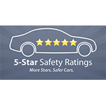2017 Chrysler Pacifica achieved 5-Star Overall Crash Safety Rating