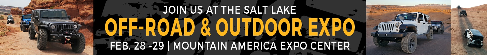 Join us at the Salt Lake Off-Road & Outdoor Expo