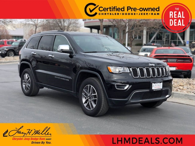 Certified Pre-Owned vehicle 2020 Jeep Grand Cherokee Limited SUV for sale near you in Sandy, UT