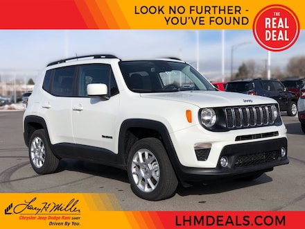 Featured New 2021 Jeep Renegade LATITUDE 4X4 Sport Utility for sale near you in Sandy, UT