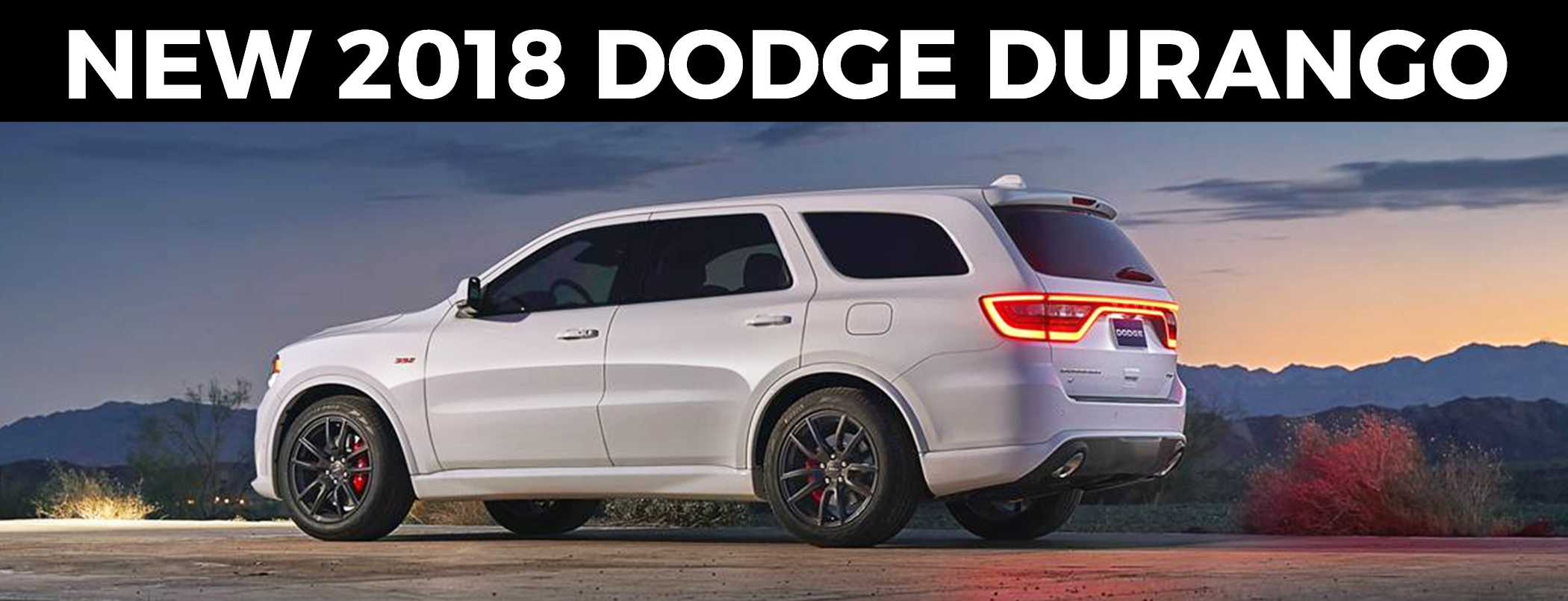 2018 Dodge Durango Review Sandy