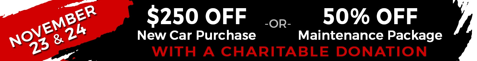 $250 Off A New Car or 50% Off Maintenance Package at LHM Chrysler Jeep Dodge Ram Sandy
