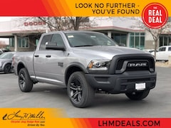 New 2021 Ram 1500 Classic WARLOCK QUAD CAB 4X4 6'4 BOX Quad Cab for sale near you in Sandy, UT