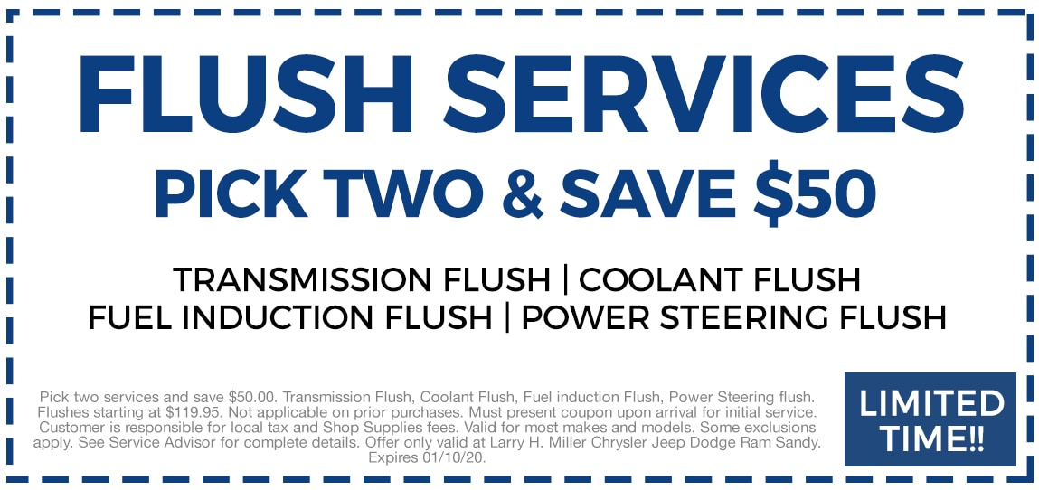 Flush Services - Pick Two Save $50