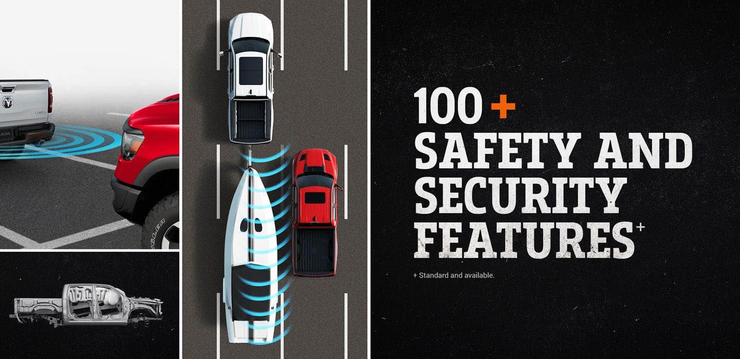 2019 Ram 1500 100+ Safety and Security Features
