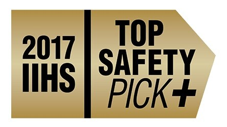 2017 Chrysler Pacifica named 2017 IIHS Top Safety Pick+ with SafetyTec Package on the limited trim