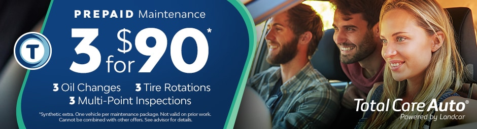$90 Pre-Paid Maintenance Packages from Larry H. Miller Ford Draper
