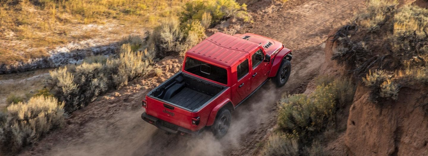All-New 2020 Jeep Gladiator