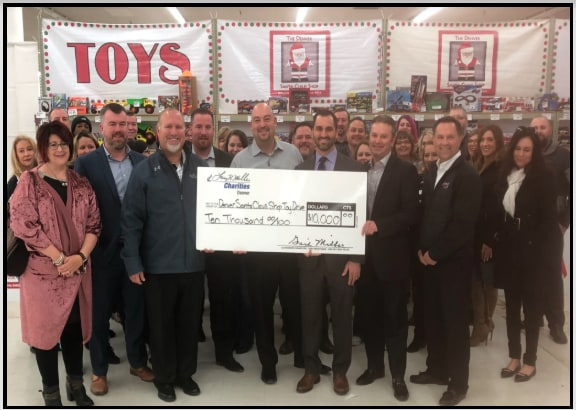 Larry H. Miller Dealership Donations