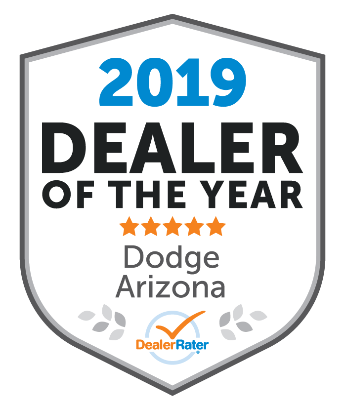 Larry H. Miller Dodge Ram Avondale Awarded Dealer Rater 2019 Arizona Dodge Dealer of the Year