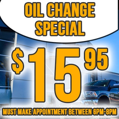 Avondale Extended Express Service Hours Oil Change Special Coupon
