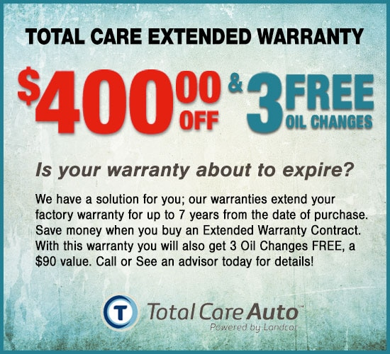 Toyota Care Extended Warranty: Avondale Auto Service Specials