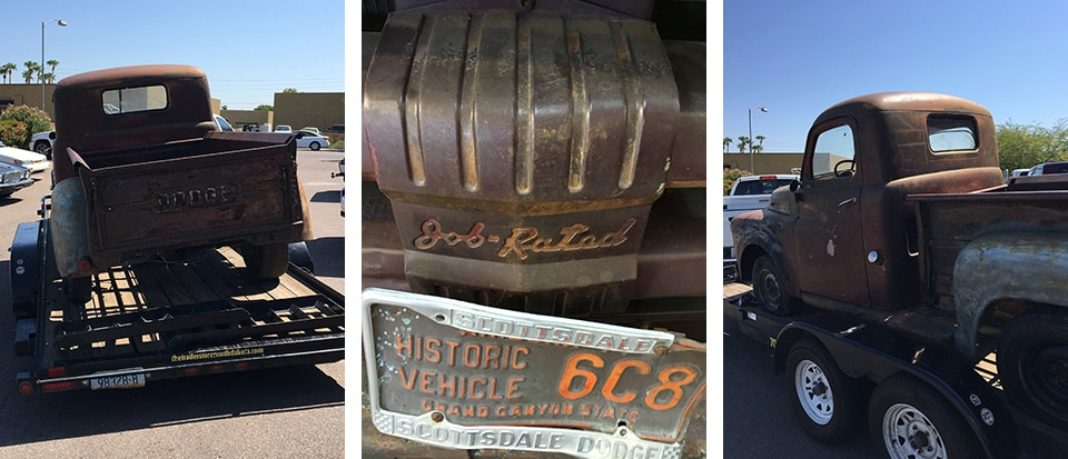 1953 Classic Dodge Gets Restored in Avondale, AZ.