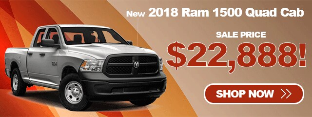 2018 Ram 1500 As Low As $22,888