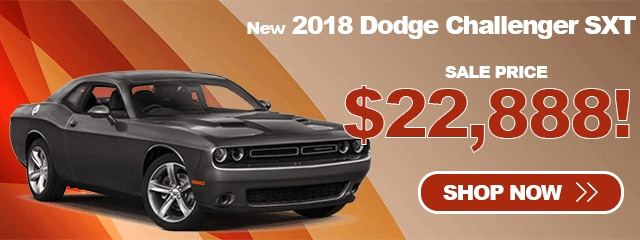 2018 Dodge Challenger SXT As Low As $22,888