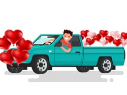 Show Your Old Truck some Valentine Love
