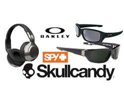 Oakley, Spy and SkullCandy Product Coupon