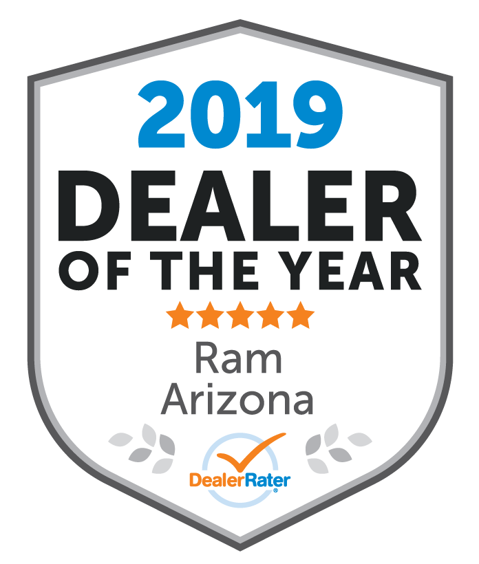 Larry H. Miller Dodge Ram Avondale Awarded Dealer Rater 2019 Arizona Ram Dealer of the Year