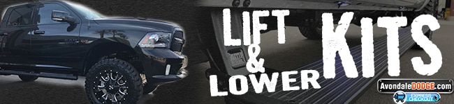 Larry H. Miller Dodge Ram Avondale Truck Accessories and Lift & Lower Kits - Installed
