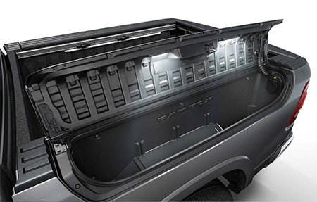 Cargo Management System on the new 2019 Ram 1500