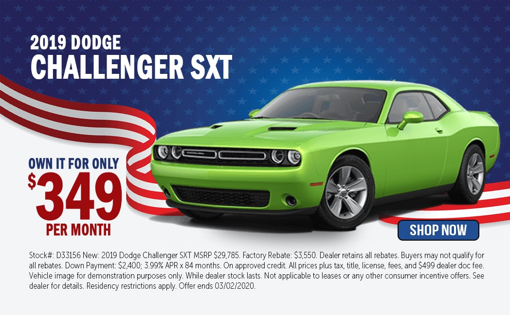 New Dodge Challenger Special in Avondale, AZ