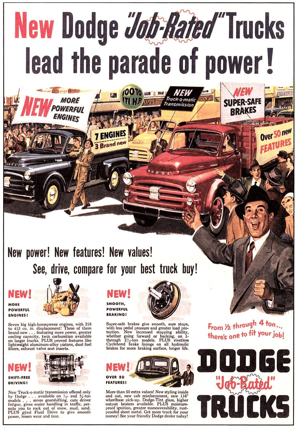 50s Dodge Truck Restoration Avondale Legacy Ram Heritage 1953 Fuel Filter Ad