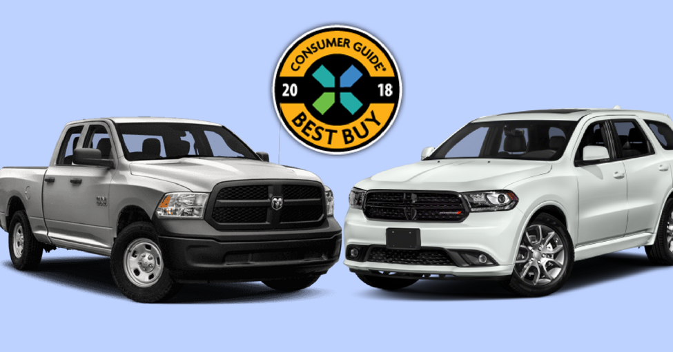 2018 Consumer Guide Automotive Best Buys—Durango & RAM 1500
