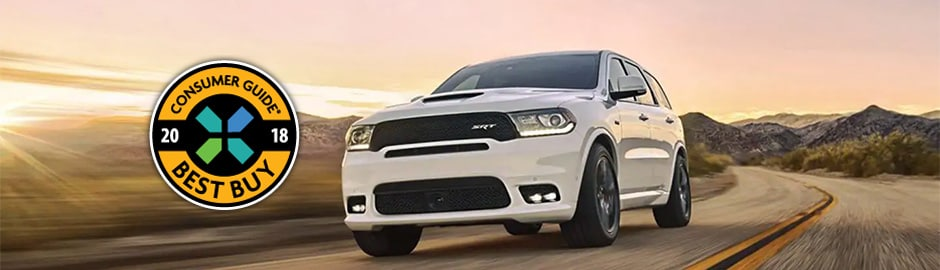 2018 Dodge Durango, Consumer Guide Best Buy Award Winner, For Sale in Avondale, AZ