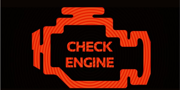 why is check engine light on in Denver, CO