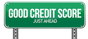 good credit score ahead