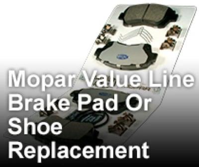 Brake Pad Or Shoe Replacement