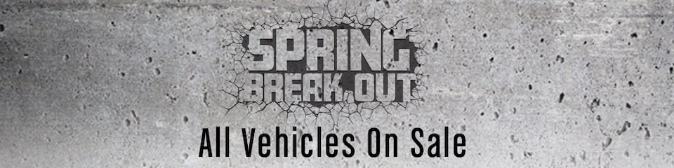 Spring Breakout Sale
