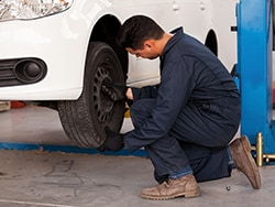 Tire Rotation with Free Brake Inspection