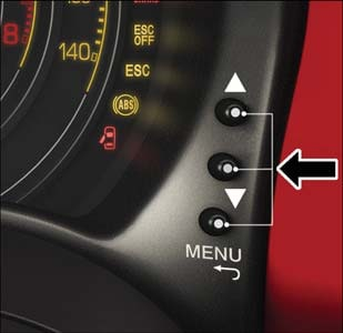 Fiat 500 Instrument Cluster// Speedo// Clocks Trip Buttons