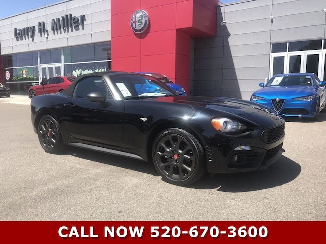New 2018 FIAT 124 Spider ABARTH Convertible for sale in Tucson, AZ